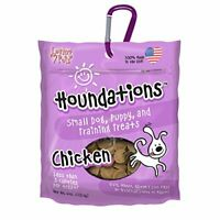 Loving Pets Houndations Chicken Training Treats Dog Treat, 4 Oz/One Size