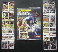 100% COMPLETE LIBERO WORLD FOOTBALL RANKING 2010 STICKER ALBUM
