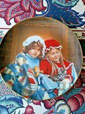 "Reco A Childhood Almanac""Fireside Dreams� January Plate #2648 Eh by Sandra Kuck"