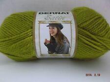 Bernat Satin Yarn ~ Colour # 04562 Olive Oil ~ 100 Grams ~ 200 Yards