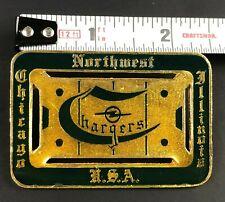 VTG Northwest Chicago Chargers Association Hockey Pin Pinback NJPHL CSDHL NIHL