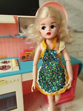 NO DOLL Sindy Pedigree Apron Baking Cooking Barbie Clothes 1970's VINTAGE BSC130