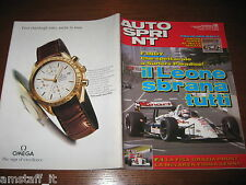 AUTOSPRINT 1993/12=F.INDY NIGEL MANSELL=RALLY MILLE MIGLIA LONGHI=BMW MOTOSPORT=