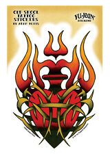 Tribal Sacred Heart old school tattoo sticker decal