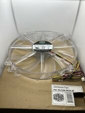 Cooler Master RA-FAN-20030-4P 700RPM 200mm Red LED Transparent Silent Case Fan