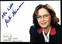 Uschi Neumann MDR Autogrammkarte Original Signiert ## BC 24591