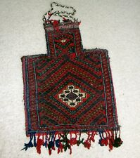 Afghanistan Collectible Beatiful Salt Grain Bag Rug Carpet Afghan Kuchi Handmade