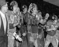 CFL 1958 Grey Cup Winnipeg Blue Bombers Rowland Savoie Stransky 8 X 10 Photo