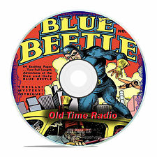 The Blue Beetle, 941 Old Time Radio Shows, Police Crime Drama OTR mp3 DVD G23