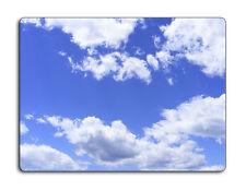 Work top saver, Glass Chopping board 40 x 30 Clouds design