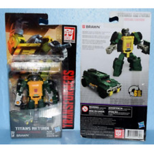Transformers Hasbro Generations Titans Return Brawn Legends Action Figures Toy