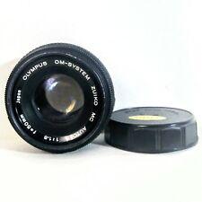 Olympus Om-System Zuiko Mc Auto-S F/1.8 50mm Lens