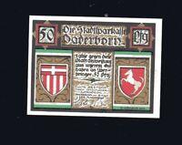 Notgeld Schein Stadtsparkasse PADERBORN Motiv Kaiser Karl 799   50 Pf  1921  top