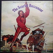 John Addison SCARLET BUCCANEER LP Film Soundtrack Genevieve Bujold Swashbuckler