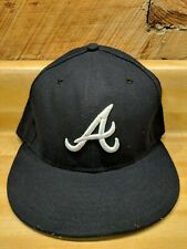 Atlanta Braves On field 59FIFTY New Era Fitted Hat 7 3/8 guc