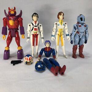 matchbox robotech voltron figures rick lisa bioroid robeast