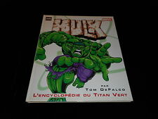 Tom de Falco : Hulk l'encyclopédie du Titan Vert Editions Semic juin 2003