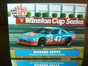 Richard Petty #43 STP Pro Set Racing 1991 Card #47 Cup Series Record-Holder