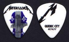 Metallica James Hetfield Quebec City 7/14/17 Guitar Pick - 2017 WorldWired Tour
