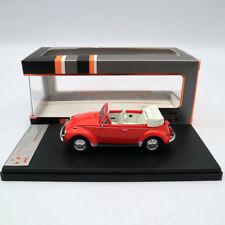 Premium X VOLKSWAGEN SUPER BEETLE 1973 CONVERTIBLE RED PRD530 1/43 Models Car