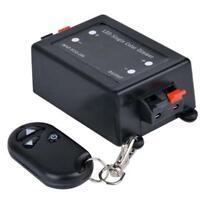 DC12/24V 8A Wireless Remote Single Color LED Dimmer Black Light RF Controller KS
