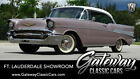 1957 Chevrolet Bel Air/150/210  Dusk Pearl/ White  1957 Chevrolet Bel Air  283 CID V8 4.6 L  2 Speed Automatic A