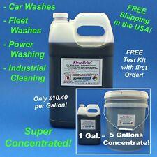 KleenBrite Car Wash Soap Presoak and Industrial Cleaner