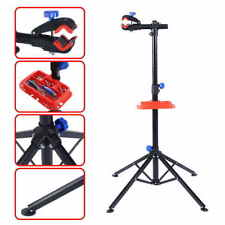 Adjustable Pro Bike  Repair Stand Telescopic Arm Cycling Bicycle Rack
