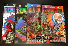 SPAWN BLOODFEUD (1995 Image) -- #1 2 3 4 -- FULL Series