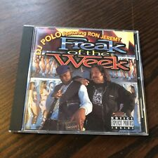 "DJ Polo (Kool G Rap Fame) and Ron Jeremy ""Freak of the Week "" CD EP Booty Bass"