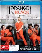 Orange Is The New Black : Season 6 (Blu-ray, 3-Disc Set) NEW