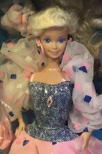 1988 Super Style Barbie doll NRFB rare European edition Style Magic HTF foreign
