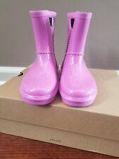 UGG Rahjee Pink Rain Boots Size 12 Toddler NEW