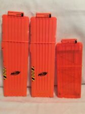 NERF Dart Ammo Cartridge Magazine Clip System Replacement Lot! Extended! A8