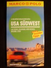 !! USA Südwest 2013 mit Karte UNGELESEN Reiseführer Marco Polo Las Vegas Arizona