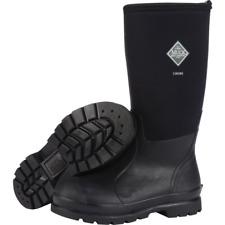 Muck Chore Classic Men's Rubber Work Boots - Black