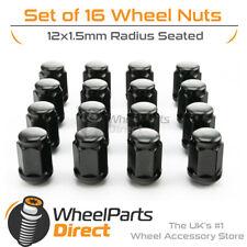 07-14 BLACK Bloccaggio Dadi Delle Ruote 12x1.25 bulloni per Subaru Impreza WRX mk3