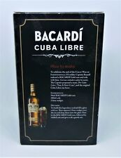 BACARDI  GLASS  BOXED