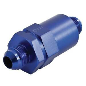Automotive Plumbing Solutions Aluminium In Line Fuel Filter With 30MicronElement