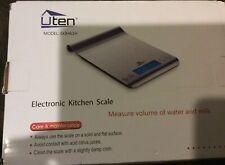 Uten Ultra Slim Multifunction Stainless Steel Hook Design Food Scale Ek8461H