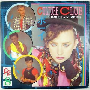 CULTURE CLUB Colour By Numbers LP 1983 NEW WAVE NM- NM-