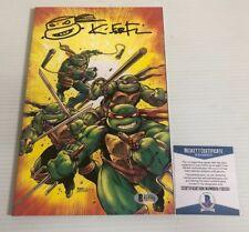 Kevin Eastman Signed Donatello Ninja Turtle Mask Tmnt Autograph Pristine Coa Autographs-original