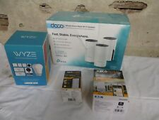 Wyze Smart Home & Decco Tpc Link Ac1200 &2 other items-4 items total New