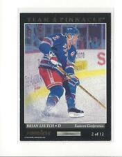 1993-94 Pinnacle Team Pinnacle #2 Brian Leetch/Chris Chelios Rangers Blackhawks