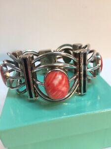 Federico Sterling & Spiny Oyster Link Bracelet