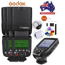 AU Godox 3*TT685N i-TTL  HSS Speedlite Flash + Xpro-N Wireless Trigger For Nikon
