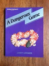 Janet Lorimer A DANGEROUS CRIME Fearon Double Fastback Spy L@@K WOW!!!