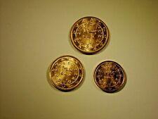 1-2-5 Euro Cent  Portugal 2002 frisch aus Beute mit Handschuhen entnommen