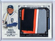 2015 Topps Museum Collection Miguel Cabrera Momentous Jumbo Patch 4x Color # /5