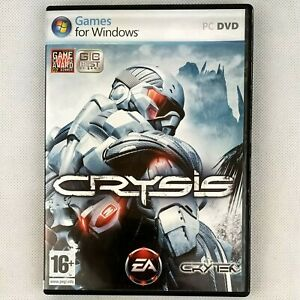 CRYSIS 1 PC DVD Original Release  Manual Included & Clean CD